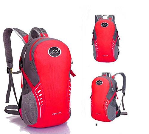 Elegante zaino outdoor portable bike Backpack zaino , army green Red