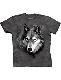 The Mountain Camesita Wolf Portrait Animal Adulto Unisexo