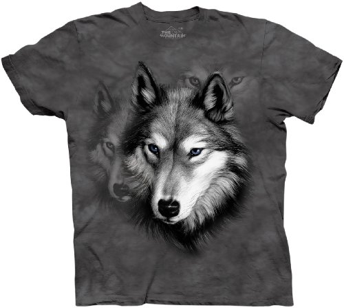 Wolf Portrait - XX Large Adult (Xx-large T-shirt Mountain)