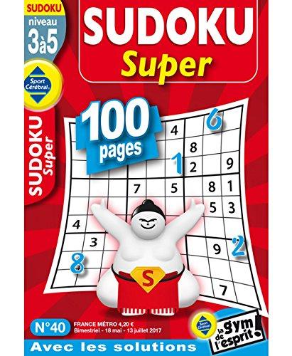 Sudoku Super Niveau 3 à 5