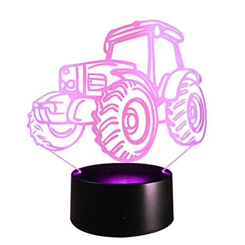HOUYAZHAN LED Nachtlicht Wireless Batteriebetriebene Moving Table Lampe für Kinderzimmer Flur Living Bedside Schlafzimmer Baumwolle (Size : Touch Control)