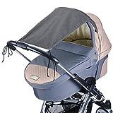 DIAGO Deluxe Sonnensegel Kinderwagen
