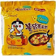 Samyang Hot Cheese Chicken Ramen Noodle, 140 gm x 5