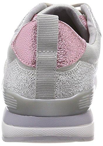 S.oliver 23606, Baskets Basses Pour Femme Argent (peigne Argent)