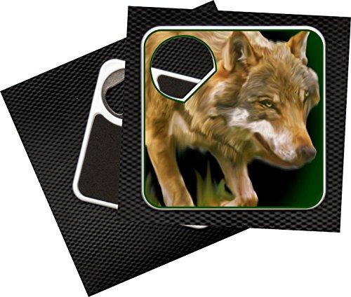 Kapselheber Kronenöffner/Untersetzer Jagd Wild -Wolf