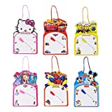 Parteet Educational Writing and Drawing Board - Pack of 6 for Birthday Return