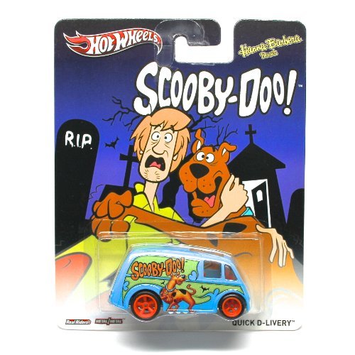 QUICK D-LIVERY * SCOOBY-DOO / HANNA-BARBERA * Hot Wheels 2013 Pop Culture Series 1:64 Scale Die-Cast Vehicle by Hot Wheels