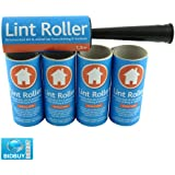 Brand New - LINT ROLLER   5 STICKY REPLACEMENT HEADS - Easy to Use Lint Roller - Pet Hair & Fluff Remover - Simply Removes the Dust / Dirt & Animal