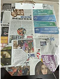 Viagreen Eco Friendly Newspaper Bag (pack Of 50) 13*6*14 Inch