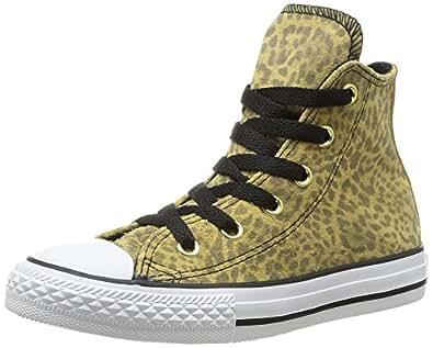 Converse Ctas Animal Hi, Sneakers Hautes mixte enfant, Multicolore (Léopard), 29 EU