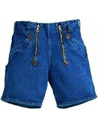 FHB Zunft-Shorts Jeans schwarz