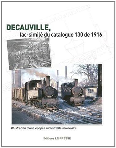 Decauville, fac-similé du catalogue 130 de