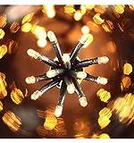 DECO NOEL - Guirlande lumineuse 300 lucioles Blanches 12 Mètres d'éclairage 8 jeux de lumière