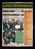 Sports Prints UK England 12 South Africa 32-2019 Rugby World Cup Final - framed print