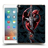 Ufficiale Anne Stokes Coltello Dragoni Cover Retro Rigida per Apple iPad 9.7 (2017)