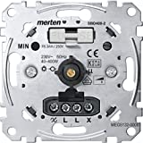 Merten MEG5132-0000 Drehdimmer-Einsatz für ohmsche Last mit Druck-Wechselschalter