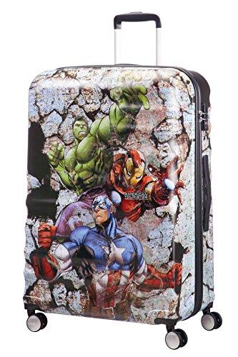 disney Wavebreaker Spinner 77/28 Marvel Koffer, 77 cm, 96 L, Avengers Rock