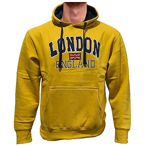 London England Hoodies Union Jack Flag UK Premium Quality Hoody Top Souvenirs Gift Embroidered Mens Womens Unisex Pullover Hooded Sweatshirt