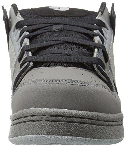 DVS (Elan Polo) Celsius - Scarpe da Skateboard Uomo Noir (Black Charcoal Grey Leather Nubuck)