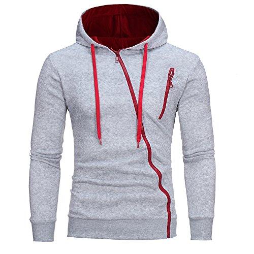 Clearance Sale ODRD Hoodie Männer Sweatshirt Herren Coat Sweater Outwear Sweatjacke Parka Cardigan Lässige Mantel Kapuzenpulli Pulli Pullover Langarmshirts Jacke Hooded Blazer Top -