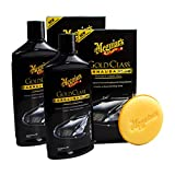Meguiar's 2X MEGUIARS 650003 Gold Class Carnauba Plus Premium Wax Liquid Autowachs 473ml