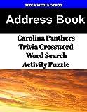 Address Book Carolina Panthers Trivia Crossword & WordSearch Activity Puzzle