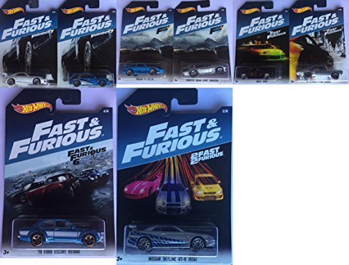 Hot Wheels Colección Fast and Furious 2017