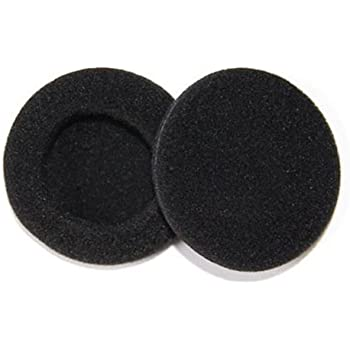 SoftRound SP062 Replacement Earpads for Philips and Sony Headphones (Black)
