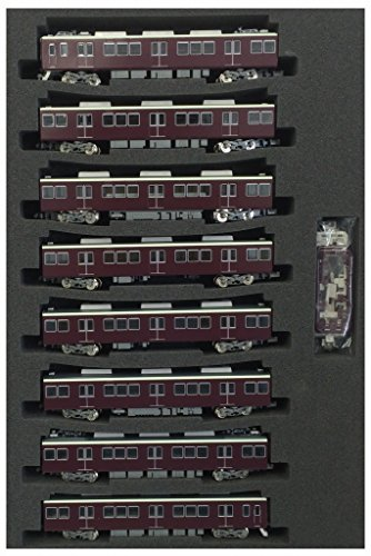 Hankyu Series 8300 [Kyoto Line] 3rd Edition, With Single-arm Pantograph (with Motor) (8-Car Set) - Serie Single Line