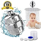 24x7 eMall High Output Universal Shower Filter Replaceable Multi 15 Stage Filter