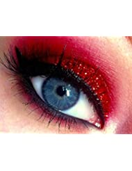 Glitter Eyes - GH6 Holographic Red Glitter Eye Eyeshadow Eye Kit Shadow Large 5ml Pot
