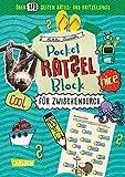 Pocket-Rätsel-Block: Für zwischendurch: 100% Rätselspaß für deine Tasche