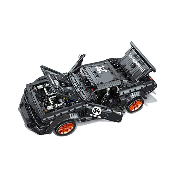 Tosbess Technic Auto Sportiva Ford Mustang, 3168 Pezzi Blocchetti di Costruzione Compatibile con Lego Technic 3 spesavip