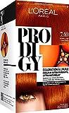 L'Oréal Paris Prodigy Coloration Permanente à l'Huile Sans Ammoniaque 7,4 Cuivré Raffiné...