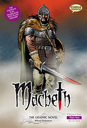 Macbeth the Graphic Novel: Plain Text (Classical Comics) por William Shakespeare