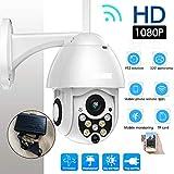 YUYUE21 Caméra de Surveillance CCTV de Surveillance de dôme de Vitesse de la caméra 1080P de Vitesse d'IP de sécurité sans Fil imperméable extérieure avec Sept lumières de Vision de Nuit