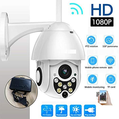YUYUE21 wasserdichte drahtlose WiFi-Überwachungs-IP-Kamera im Freien 1080P Speed   Dome CCTV-Überwachungskamera mit Sieben Nachtsicht-Lichtern