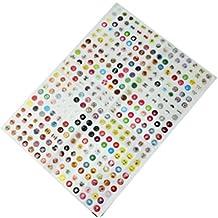 330 x Etiqueta Inicio Botón Home Cartoon Accesorio para iPhone 4 4S 5 5C 5S 6 6S