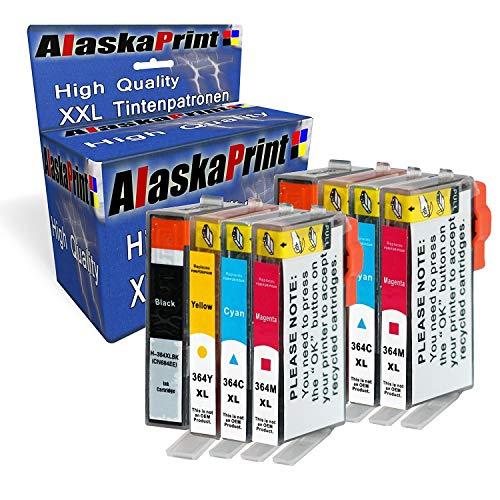 erpatronen Komp. mit HP 364 XL 364XL mit HP Photosmart Plus B209a B209b B209c B210a B210b B210c Premium Fax C309a Premium TouchSmart Web C309n ()