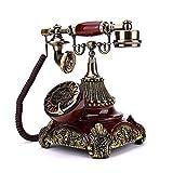 Retro Plattenspieler Telefon kreative amerikanische Maschine Festnetz europäischen antiken Telefon Vintage alte Karte Telefon zu Hause L25cmxW19.5cmxH28.5cm