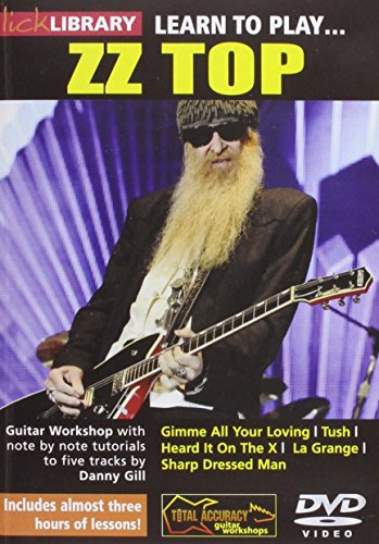 Lick Library: Learn To Play Zz Top [Reino Unido] [DVD]