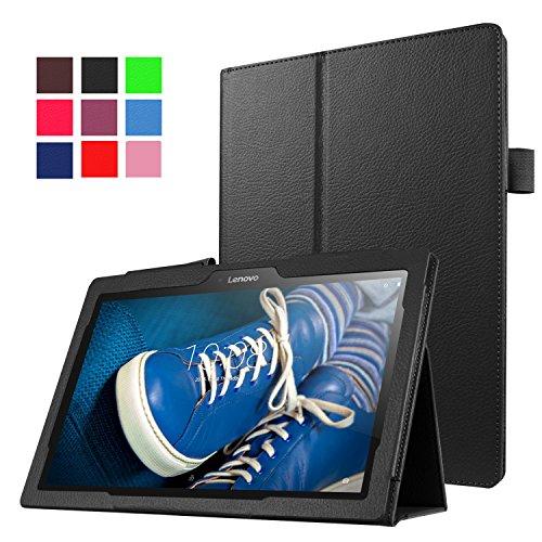 """Funluna Lenovo Tab 2 A10-30 / Tab 2 A10-70 / Tab3 10 Plus / Tab3 10 Business Hülle, Ultra Lightweight Slim PU Leder Tasche Schutzhülle Schale Smart Case mit Auto Schlaf / Wach Funktion für Lenovo Tab 2 A10-30 / A10-30L / A10-30F / Tab 2 A10-70 / A10-70L / A10-70F / TAB3 10 Plus / Tab 3 10 Business 10.1"""" Tablet"""