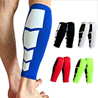 FITTOO Calf Compression Sleeves Leg Muscle Protection Shin Guard Leg Brace For Running Football Basketball Sports Support