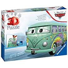 Ravensburger 11185 Disney Pixar Cars Filmore 162 Piece 3D Jigsaw Kids Age 8 Years and up. These Puzzles Make Ideal VW Camper Van Gifts
