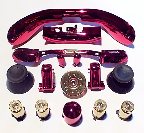 XB360 MOD Kit + B ABXY & DP Chrom/Rot