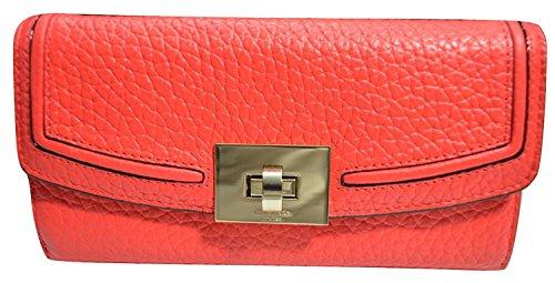 Kate Spade Everett Way Jean Leather Envelope Turn Lock Wallet (Jeans Flap Back Pocket)