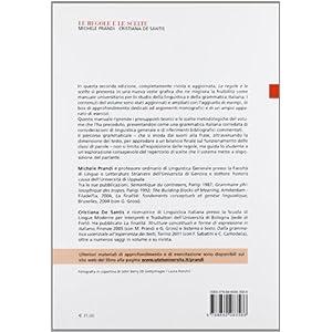 Le regole e le scelte. Manuale di linguistica e di