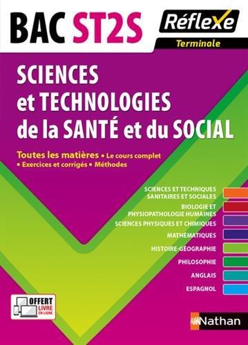 Toutes les matires Terminale ST2S - Sciences et Technologies de la Sant et du Social