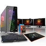Fierce Outlaw PC Gamer Rapide Ordinateur de Jeux - Octo-Core AMD Ryzen 7 1700X 3.8GHz - 16Go de 2133MHz DDR4 RAM Super Rapide - Nvidia GeForce GTX 1070 8Go - 351545