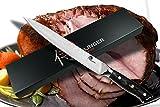 "SXL-P8S Profesional de Damasco Cuchillo jamonero– Samurai serie por Dellinger cubiertos con japonés 67 capas VG-10 damasco acero inoxidable y G10 mango Longitud: 8""(205mm)"